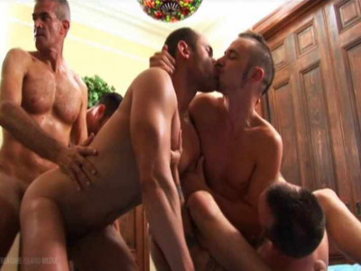 Lost Gangbang With Brutal Fuckers