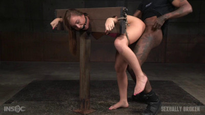 Redheaded Maddy O'Reilly Bound Drooling In Strict Bondage Dicked Down (2016)