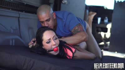 SexuallyBroken – Nov 19, 2014 – Sabrina Banks Is Handcuffed For Rough Outdoor Sex