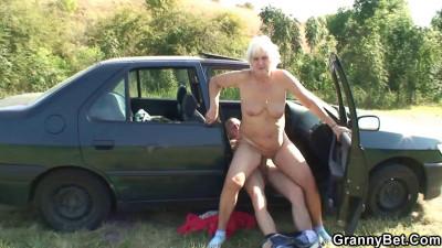 Granny on a wild ride