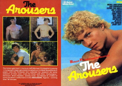The Arousers (1984) - Michael Christopher, Mike De Marco, Rick Donovan