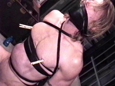 His captor soon puts his handsome specimen through bondage hell
