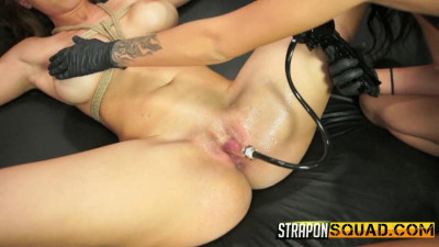 StrapOnSquad Kylie Rogue and Esmi Lee