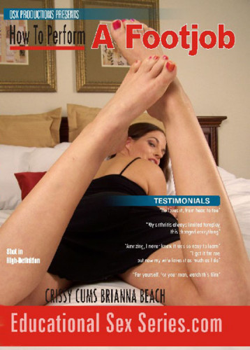 How To Perform A Footjob Brianna Beach