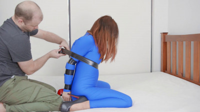 Taped In Blue Catsuit (2016)