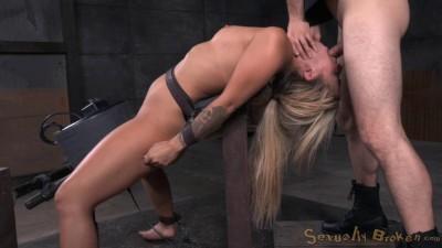 Sexy Blonde Madelyn Monroe – Brutal Deepthroat