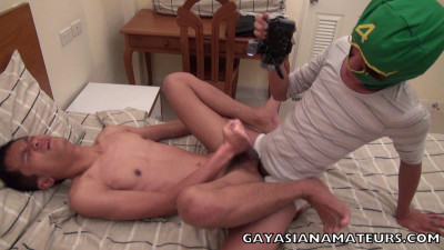 [Gay Asian Amateurs] Kit Fucked By the Cameraman