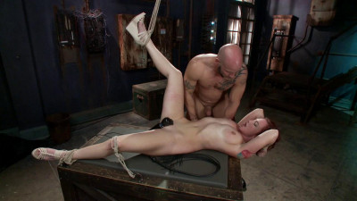 FB – 04-04-2014 – Newbie Gets Brutally Fucked In Tight Bondage