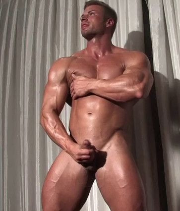 Kane Griffin - Handsome Blond Muscle - still, young, vid