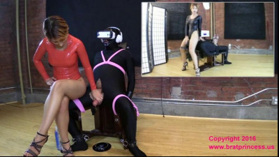 Slave Ruined Multiple Times while in Virtual Reality at the Edging SalonAlexa