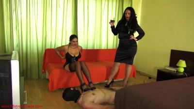 Mistress Ezada Mistress Roberta stupid slave humiliation (2014)