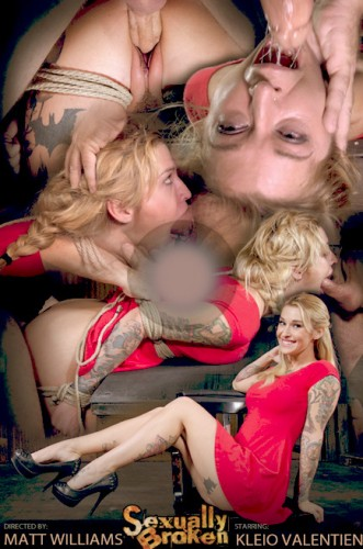 SexuallyBroken - Jun 12, 2015 - Tattooed alt slut Kleio Valentien tied up and passed around