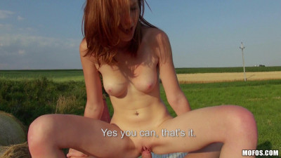 This Young Redhead Hottie Take His Cock Balls Deep