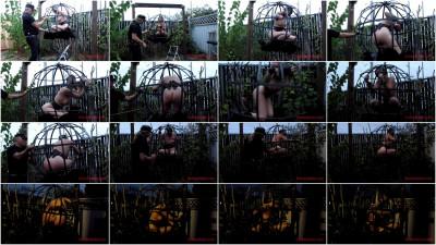 Sensualpain – Jul 21, 2016 – Sphere Cage Fuckery At Dusk – Abigail Dupree