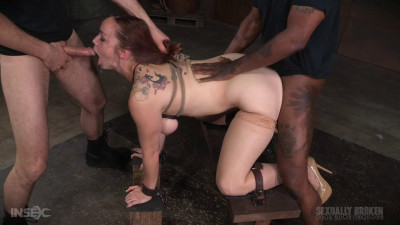 SexuallyBroken Bella Rossi BaRS show continues with rough doggy style sex