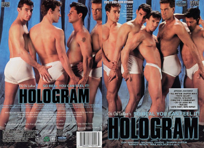 Hologram - young jock poses.