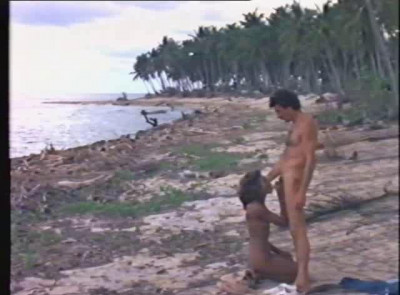Oral sex on a wild island