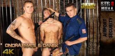 STR8Hell - Ondra, Mate and Danek RAW - Airoport Security (tight hole, guys, gay sites)...