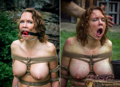 Hellish violence to slave