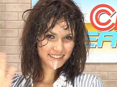 RCT-168 Announcer Bukkake! Gokkun Special - Maria Ozawa