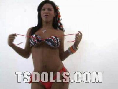 Gorgeous TS Doll Emilly Balieiro