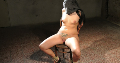Submissed - Clair Brooks chair-tied cleavegagged stripped vibed