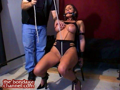 Christina In Crotchrope Predicament Bondage