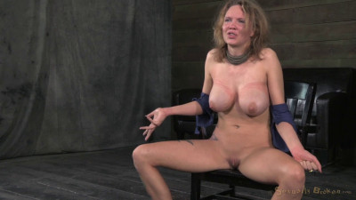 Big Breasted Blonde Rain