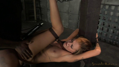 Cole Belt Down, Chained And Roughly Fucked By Big Cock