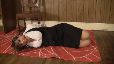 Elizabeth Andrews Self Hogtied After A Long Days Shopping (2015)