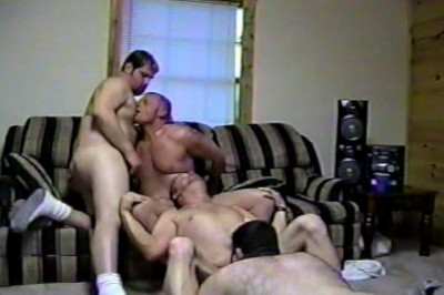 Twink Double Teamed By Two Older Guys