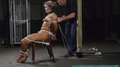 Punishing Nude Chair Tie for Adara - Part 2