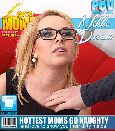 Nikki Dream — Curvy mom fucks in POV style HD 720p