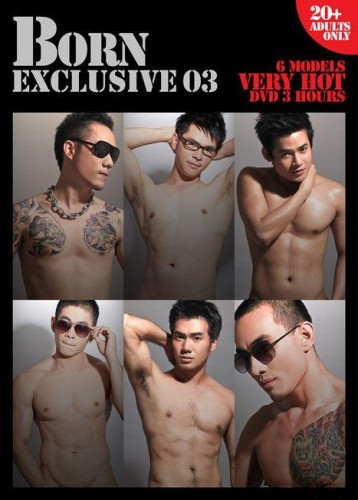 Born exclusive 3 Thai handsome naked model