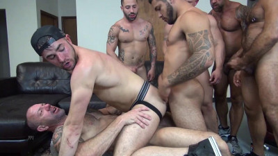 Alex Mason's Birthday Gang Bang Mario Cruz, Vic Rocco, Alex Mason, Alessio Romero (2016)