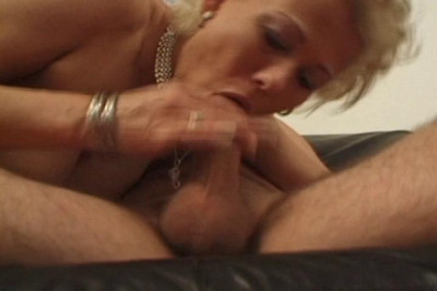 Blond Milf Tina Craves A Mouthful Of Cum