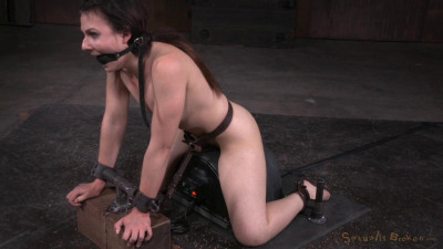 Amy Faye Bound On Sybian And Throat Trained By Hard Cock, Multiple Orgasms