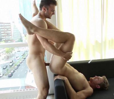 Gabriel Clark drills Levi Michaels (720p)