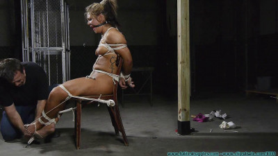 Punishing Nude Chair Tie for Adara - Part 3
