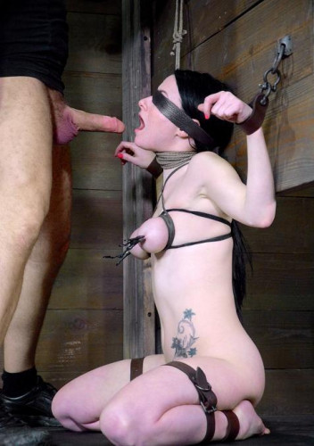 Cute Veruca James Shackled & Chained, Facefucked With Brutal Deep Throating