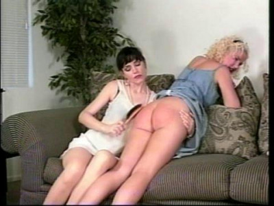 A Highly Believable Woman Spanks Girl Combination