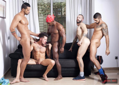 Private Party Episode 1 - (Angel Garcia, Ehrik Ortega, Lucas Fox, Max Toro,Tony Moreno)