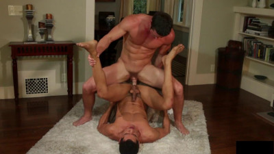 Gay fuck in a country house