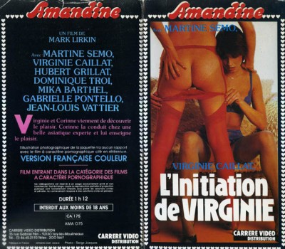 L'initiation pornographique de Virginie