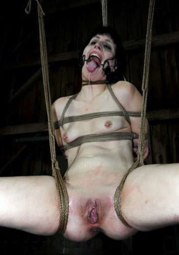Hard bondage play