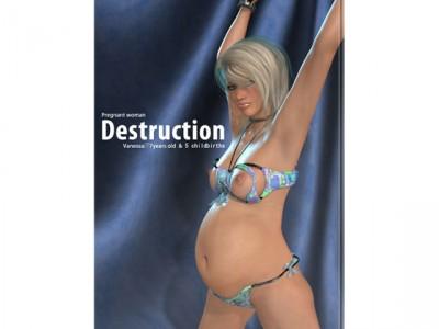 Forced pregnancy[Pregnant woman -Destruction-」