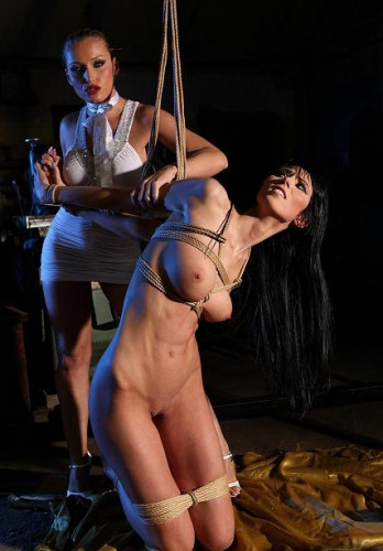 Lory and her Mistress in bdsm action