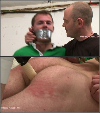 Sean2-l - Tied, breath control, gagged, groped