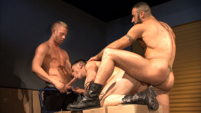 TitanMen Exclusives Dario Beck and Trenton Ducati with Christopher Daniels and Spencer Reed - Surveillance - Scene 3