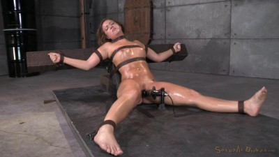 Maddy OReilly gets restrained and throatboarded